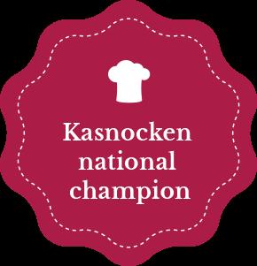 Gasthof Walcher Restaurant Landesmeister im Kasnocken kochen
